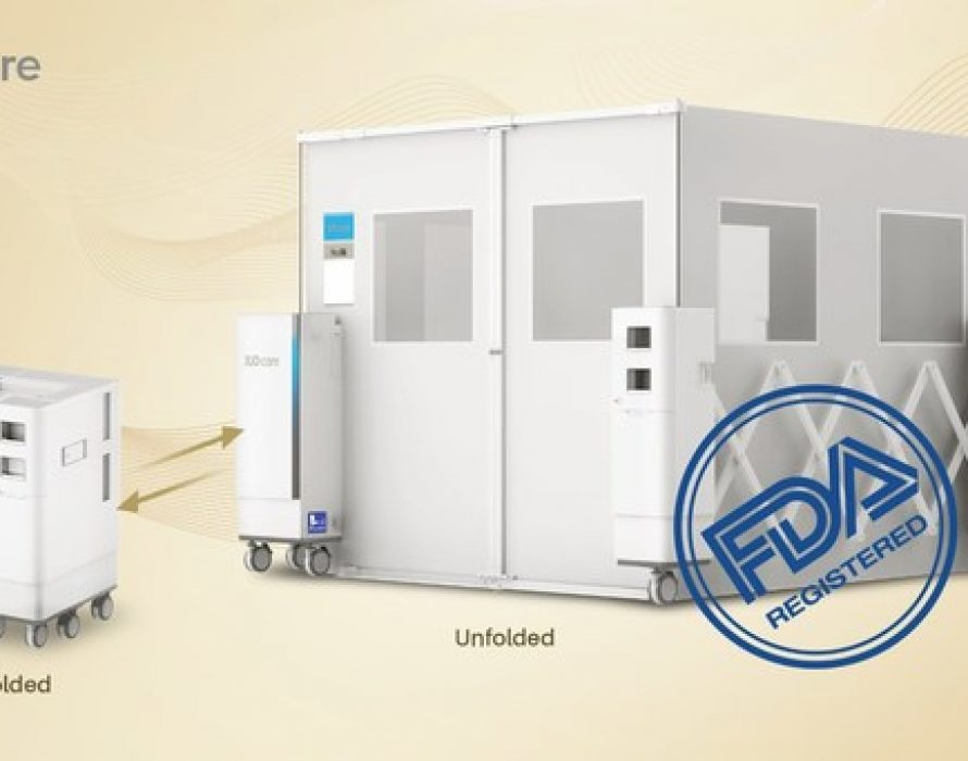 JUD care Obtains FDA Approval for Its Portable Ward sRoom