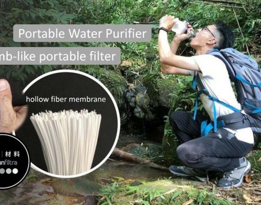 Mbran Filtra Introduces the Smallest Portable Water filter in the World