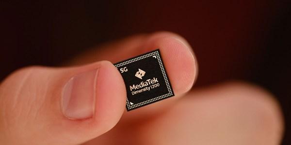 MediaTek's newest 5G chipset, the Dimensity 1200.