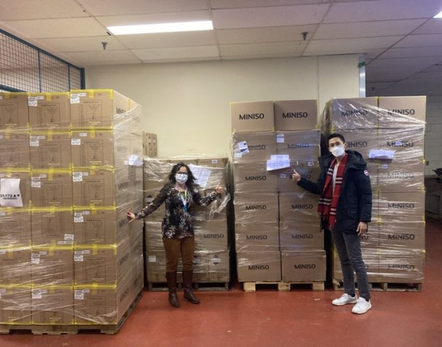 MINISO Donates Over 2 Million Masks to North American Non-Profit Organizations and Colleges