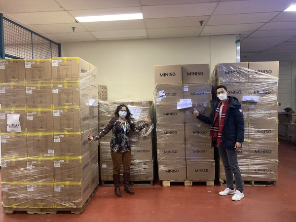MINISO donates PPE material to non-profit organizations in Canada