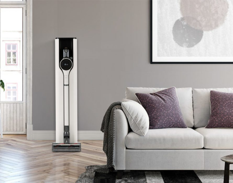 Newest LG CordZero ThinQ Vac With New Charging Station Delivers Hassle-Free Cleaning Experience