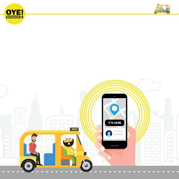 Oye! Rickshaw drives 10X Growth in Active Users with MoEngage
