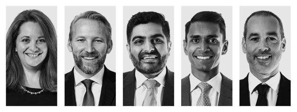 Emma Bewley, Sam Diedrich, Jay Majeethia, Sudharshan Murugesu and Olivier Piccoli promoted to Managing Director