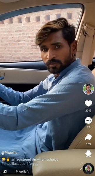 Phoollu, Pakistani farmer with millions of fans, just joined SnackVideo