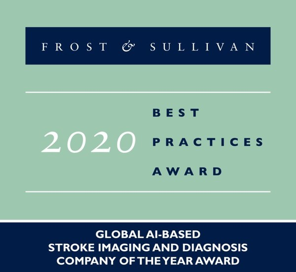 2020 Global AI-based Stroke Imaging and Diagnosis Company of the Year Award