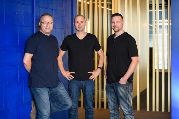Rapyd co-founders Arik Shtilman, CEO, Arkady Karpman, VP R&D, and Omer Priel, VP Corporate Development