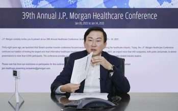Samsung Biologics Shares 'Vision' for Next Decade at the 39th Annual JP Morgan Healthcare Conference