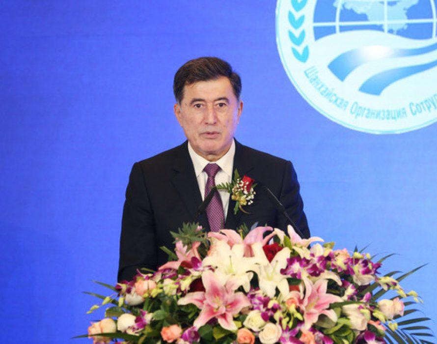 "SCO Secretariat, TSCA jointly host ""National Data Brain"" Summit"