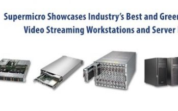Supermicro Showcases Industry's Best and Greenest Cloud Gaming, Video Streaming Workstations and Server Infrastructure Delivering Exceptional TCO and TCE Savings at All-Virtual CES