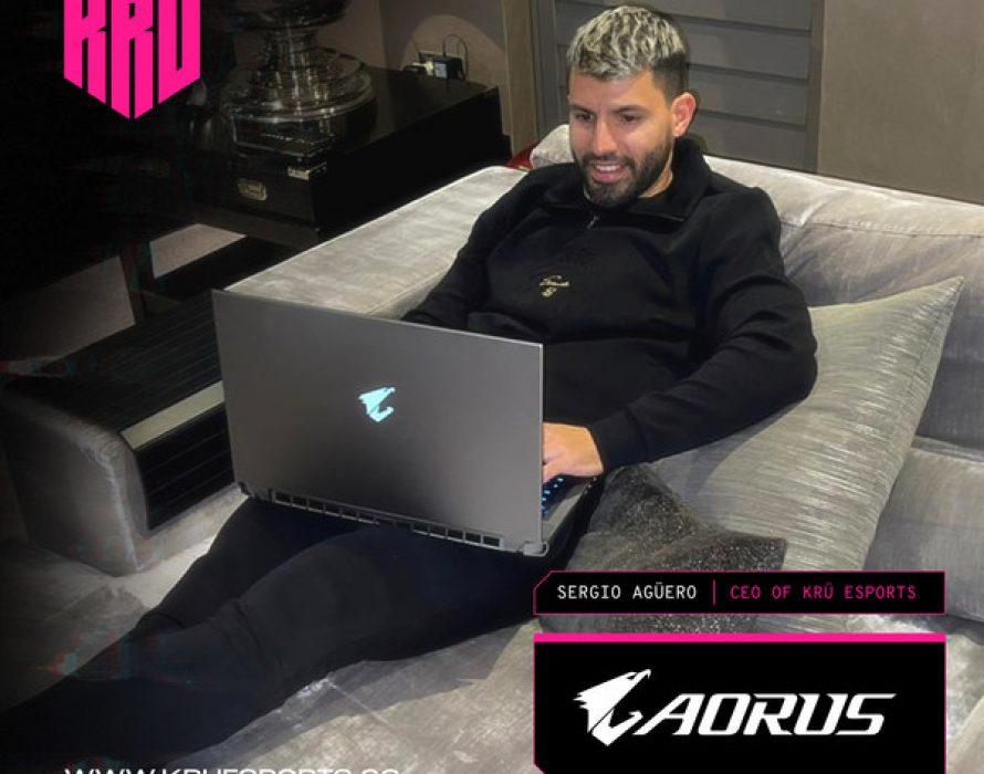 Surprising Duo – AORUS Teams Up with Football Star Sergio Agüero in Esports