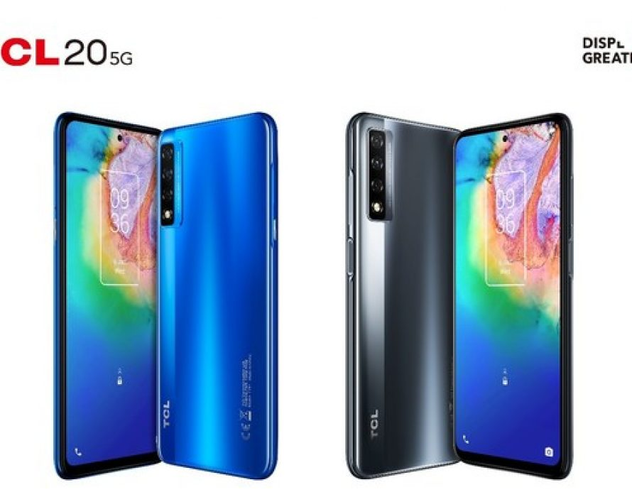 TCL Communication introduces all-new TCL 20 Series smartphone portfolio with multiple 5G-capable smartphones at CES 2021