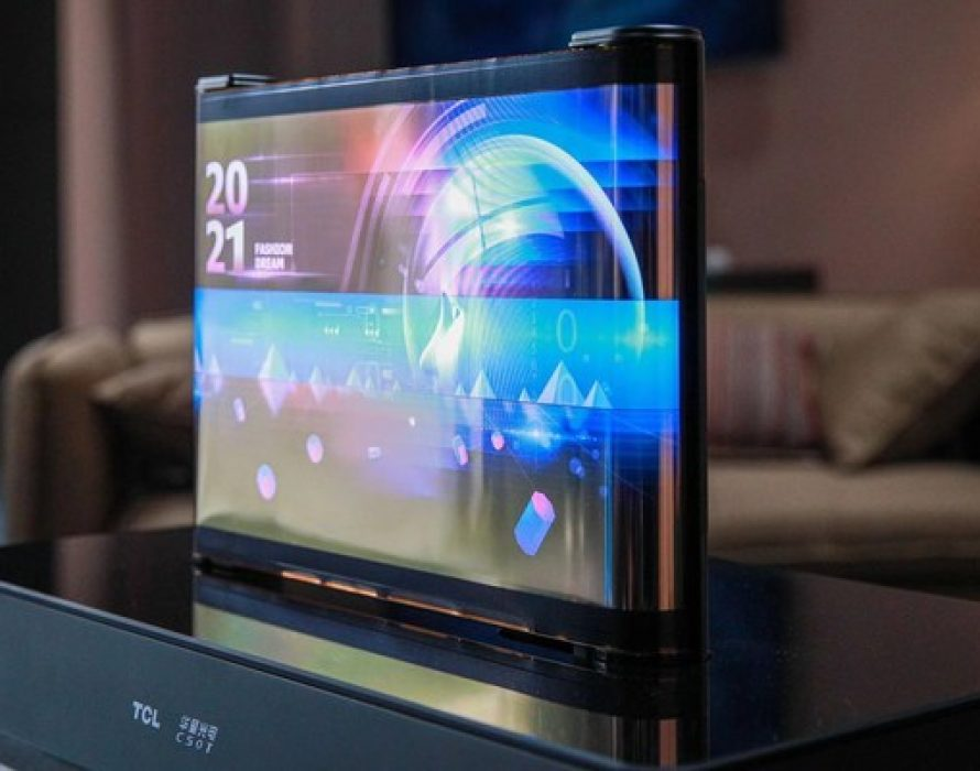 TCL CSOT Launches Two Flexible Displays at CES 2021: Re-defining Standards for Portable Devices