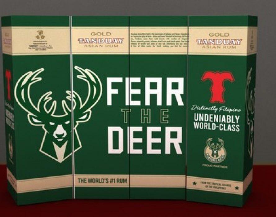 Top Filipino Rum Brand Tanduay Partners with the Milwaukee Bucks as It Enters Wisconsin Market
