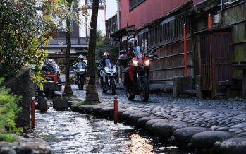 "Unbeaten Japan: ""The Dragon Route"" motorbike tour across the heart of Japan"