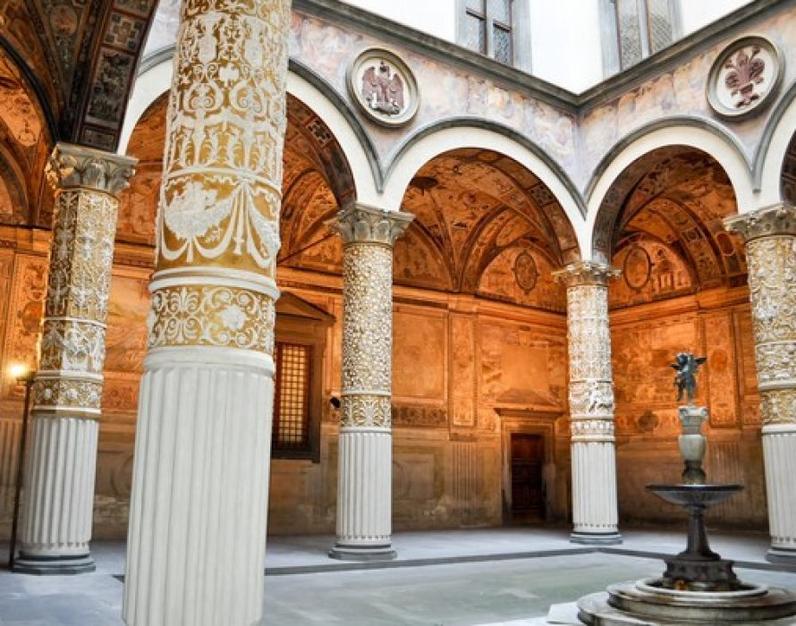 Underlining Its Strong Ties With Florence, Kering Sponsors Improved Facilities For The Palazzo Vecchio Courtyard