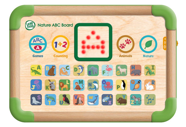 VTech will source materials from responsibly managed forests certified by Forest Stewardship Council® for the new wooden toy - Touch & Learn Nature ABC Board™.