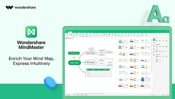 Wondershare MindMaster 8.5: Shape Mind Maps with Endless Possibilities