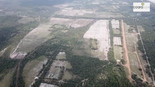 116MWP Coara Marang solar farm, one of the largest Solar Projects in Malaysia has started construction In Terengganu.