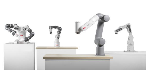 ABB boosts the new collaborative robot portfolio with GoFa™️ and SWIFTI™️