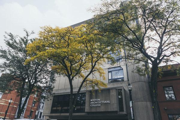 The Boston Architectural College campus at 320 Newbury Street, Boston, MA.