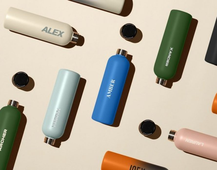 CASETiFY Introduces its First Customizable Water Bottle