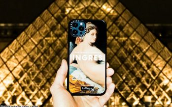 CASETiFY Teams Up with the Musée du Louvre for its First Fine Art Tech Capsule