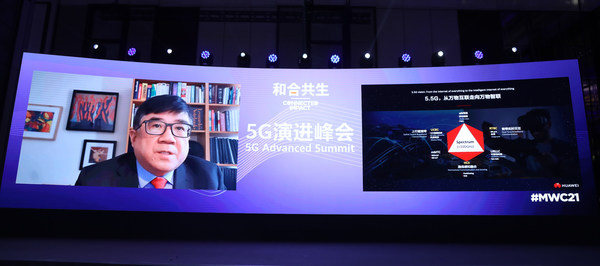 5G Evolution Speech @ MWC 2021 by Dr. Tong Wen, Huawei Fellow and CTO of Huawei Wireless