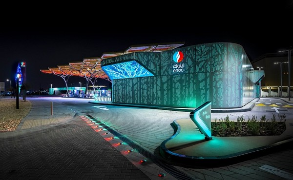 ENOC Service Station of the Future