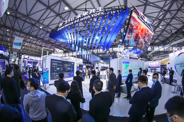 YOFC Underlines its Open and Smart Profile at MWC Shanghai 2021