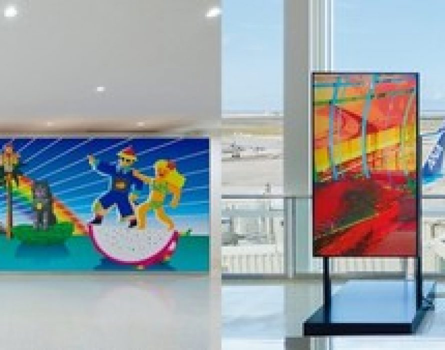 """Expressing the """"memory"""" of the Ryukyu Kingdom in a new Media Art exhibit opened at Naha Airport on February 13"""