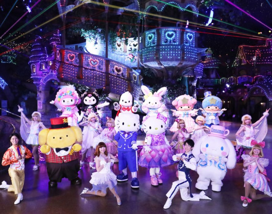 """Hello Kitty Land Tokyo commences one-year celebration of its 30th anniversary with the new """"Hello, New World"""" parade"""