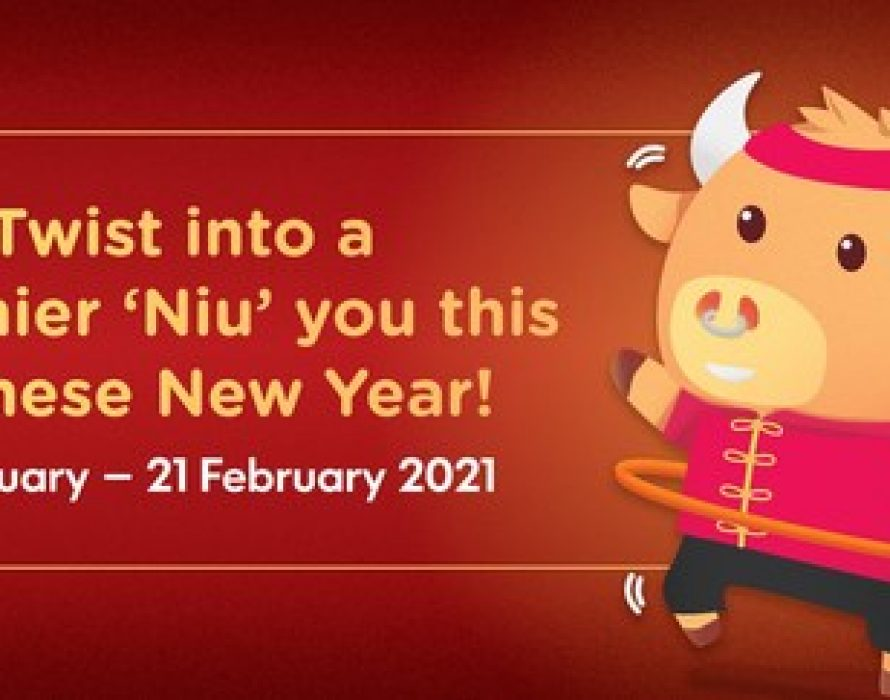 """IPC Shopping Centre Ushers the Lunar New Year with an """"Ox-mented"""" Reality Twist"""
