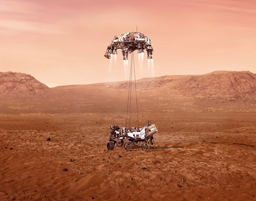 NASA's Perseverance rover touches down on Mars
