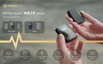 Mirfak Audio Announces Dual Channel Compact Wireless Microphone –WE10
