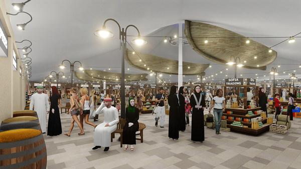 Souk Al Marfa Interior