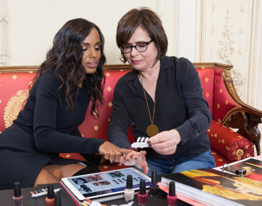OPI And Kerry Washington Reunite To Celebrate OPI's 40th Anniversary