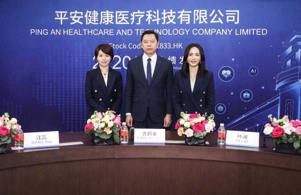 Ping An Healthcare and Technology Company Limited announces 2020 annual results