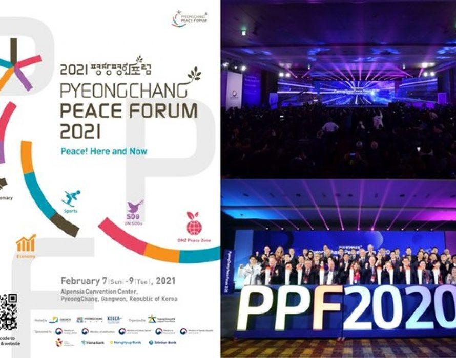 PyeongChang Peace Forum 2021 to Take Place February 7-9