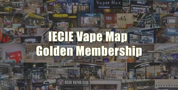 IECIE VapeMap Golden Member Alliance