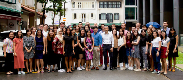 The Sleek team in Singapore