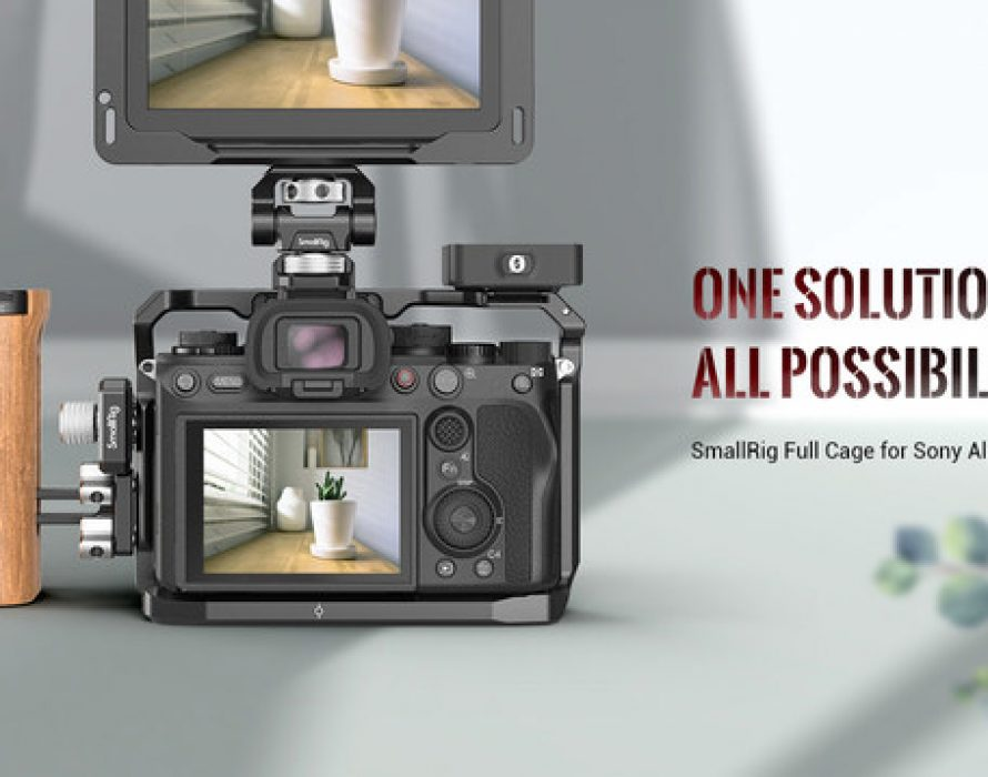 SmallRig Releases the Full Cage for Sony Alpha 1