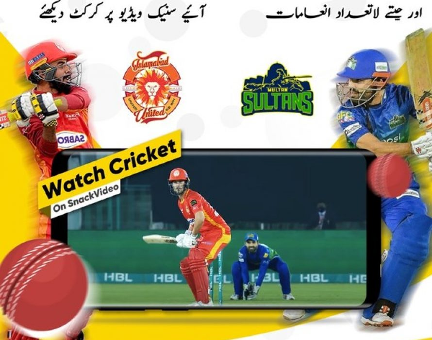 SnackVideo announces exclusive sponsorship agreement with two leading Pakistani sports teams, Islamabad United and Multan Sultans