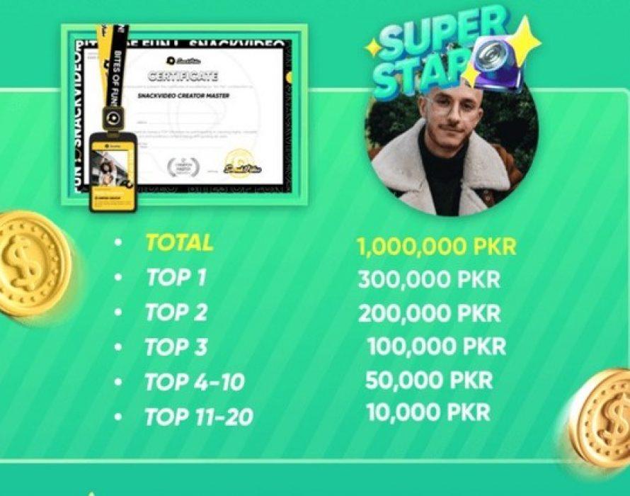 SnackVideo announces Winners of 1,000,000 PKR Creator Academy