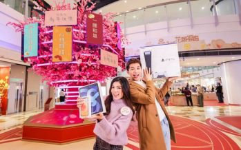 """Temple Mall Presents """"Blooming Bliss"""" CNY Campaign"""