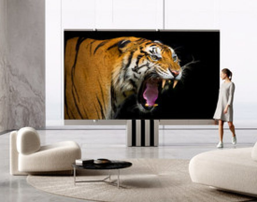 The World´s First Foldable 165-inch Micro LED TV – C SEED introduces the M1 Redefining Luxury and Style