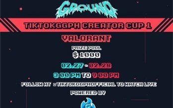 TikTok Partners with FIGHT Esports for the #TikTokGGPH Creator Cup Tournament