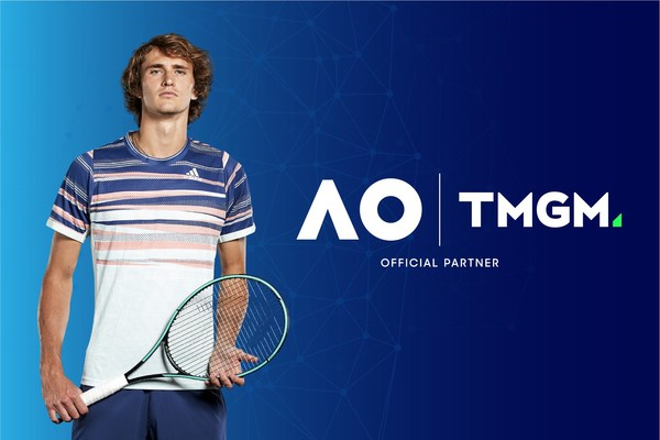 TMGM Sponsors Renowned Tennis Star Alexander Zverev For The Australian Open Photo Credit: ATP and Getty Images.