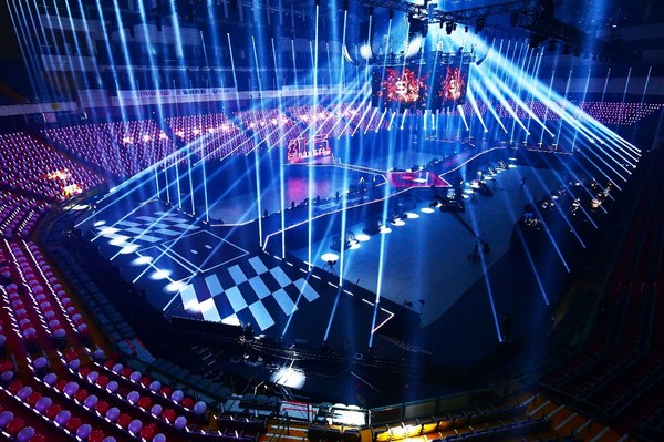 The 3D Stage for the 2021 TTV SUPER STAR/ photo credit: TTV