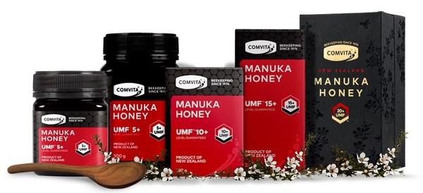 Range of Comvita's premier UMF+ products